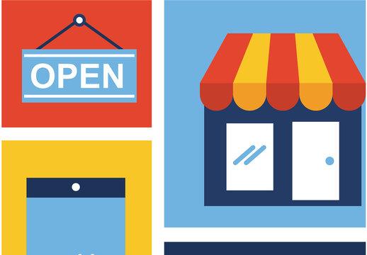 E-Commerce Icon Set 6