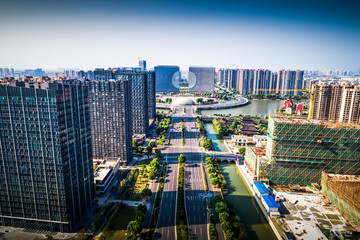 Beautiful city in China