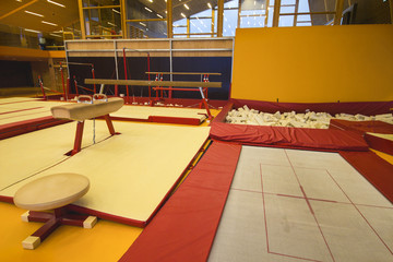 Gymnastic center in the Faroe Islands