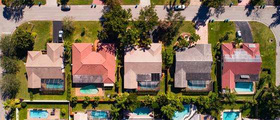 Urban Aerial Photography South Florida.