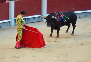 Foto op Aluminium Stierenvechten corrida