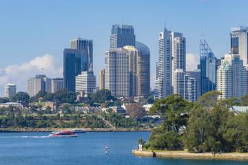Skyline of Sydney CBD in daytime