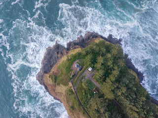 Lighthouse from Above
