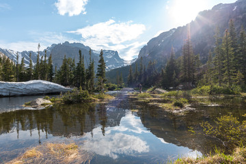 Loch Vale Rocky Mountain National Park