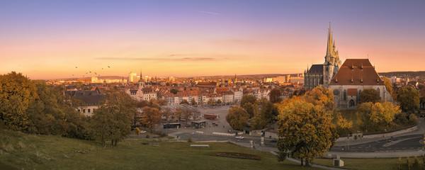 Erfurter Dom - Panorama