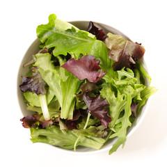 fresh lettuce in bowl