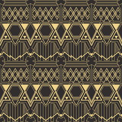 Abstract art deco pattern06