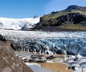 Foto auf Acrylglas Glaciers The Vatnajokull glacier