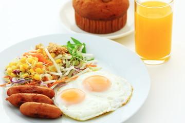目玉焼き 朝食