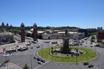 Plaza España de Barcelona