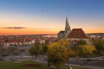 Erfurter Dom - Sonnenuntergang