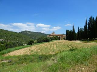 Monasterio de Santa María o cartuja de Santa María situado la Puebla de Benifasar (Castellón,España)  en las montañas de la Tenencia de Benifasar y los Puertos de Tortosa-Beceite