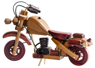 Toy Wooden bike