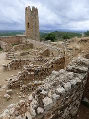 Castillo de Ulldecona, localidad de Tarragona (Cataluña, España) situada en la comarca catalana del Montsiá