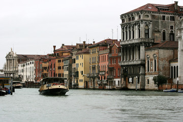 Venice - Italy - boat on Canal Grande