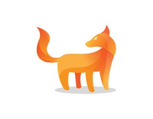 Fox design vector