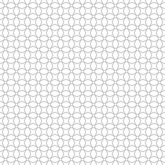 Abstract gray pattern geometric of Islamic, Arabesque ornament on white background. Seamless Vector illustration.