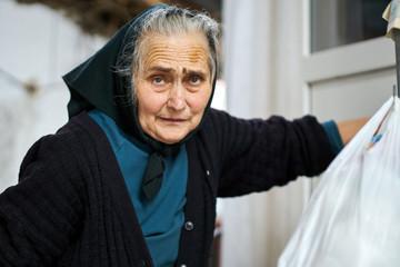 Senior woman outdoor