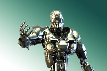 3D Illustration of the robot