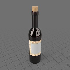 Bottle for red wine
