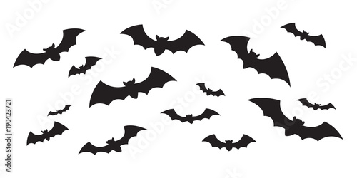 Bat Vector Halloween Icon Logo Fly Doodle Illustration Character