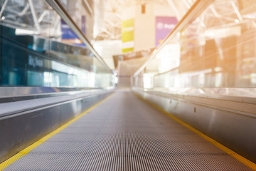 travelator at the airport