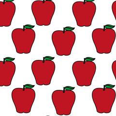 Isolated apple design