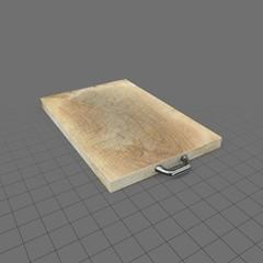 Used wood cutting board