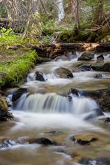 Killpecker Creek in the Laramie Mountains of Northern Colorado.