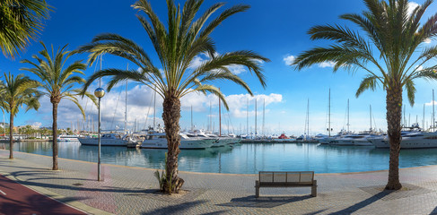 Yachthafen in Palma de Mallorca