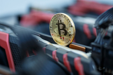 Bitcoin cryptocurrency mining and trading