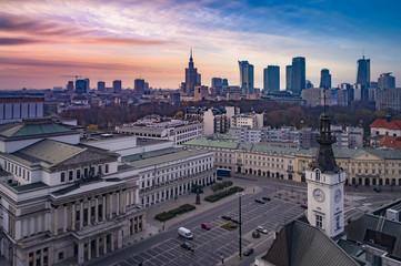 Warszawa - plac Teatralny