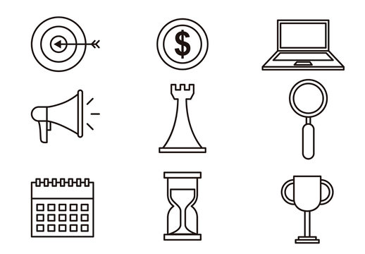 Business Icon Set 9