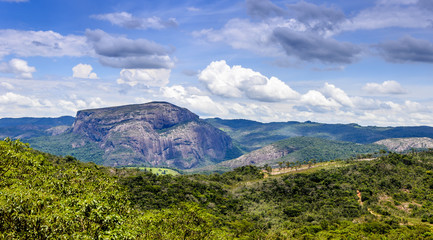 Cauntry side of the state of Minas Gerais , Brazil . Region  in the area Diamantina and Sera .