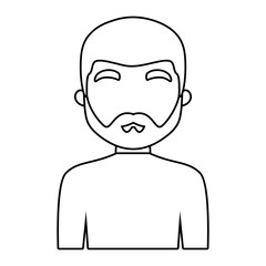 avatar man with beard icon