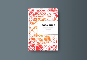 Abstract Book/Report Cover Layout 21
