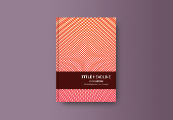 Abstract Book/Report Cover Layout 22