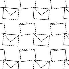 message envelope file folder icon image vector llustration design