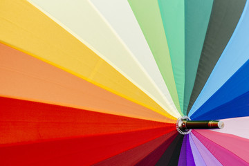 rainbow coloured umbrella background