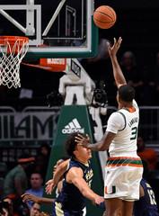 NCAA Basketball: Pittsburgh at Miami