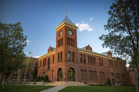 Old Coconino County Courthouse in Flagstaff Arizona
