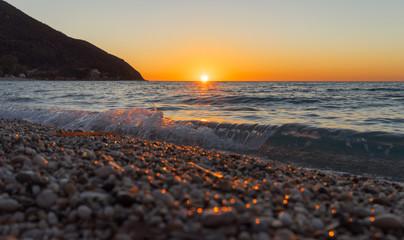 Agios Ioannis sunset