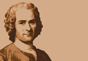 Rousseau - écrivain - portrait - personnage célèbre - littérature - personnage - livre - philosophe