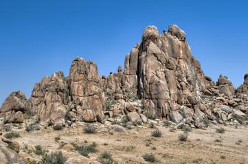 Felsformationen in der Wüste Gobi, Mongolei