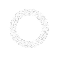 Circle Circuit Board Techno Background