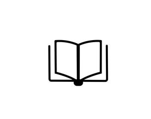 Modern book. Search photos icon