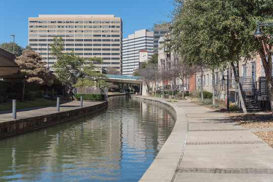 Mandalay Canal Walk in Las Colinas, Irving, Texas