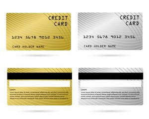 modern credit card, business VIP card, design for privilege member, member card, vector