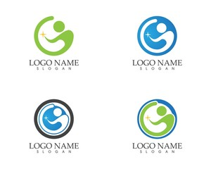 G letter people logo design