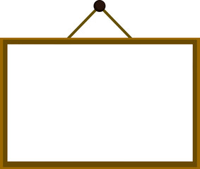 ミニホワイトボード(木枠)